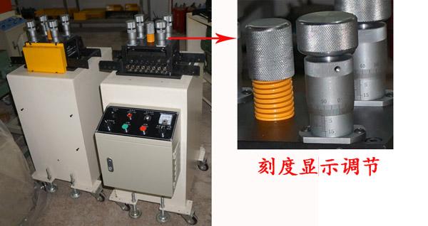 3,传统的精密整平机都是出料感应装置都是采用一个l杆来接解材料